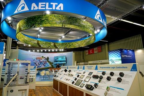 Delta Presents Innovation & Smart Automation for Industrial Upgrades at SPS/IPC/Drives/Nuremberg 2018